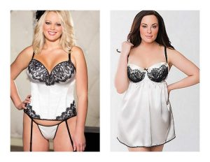 Get Your Sexy Rockin' in Plus Size Lingerie for The Holidays on The Curvy Fashionista
