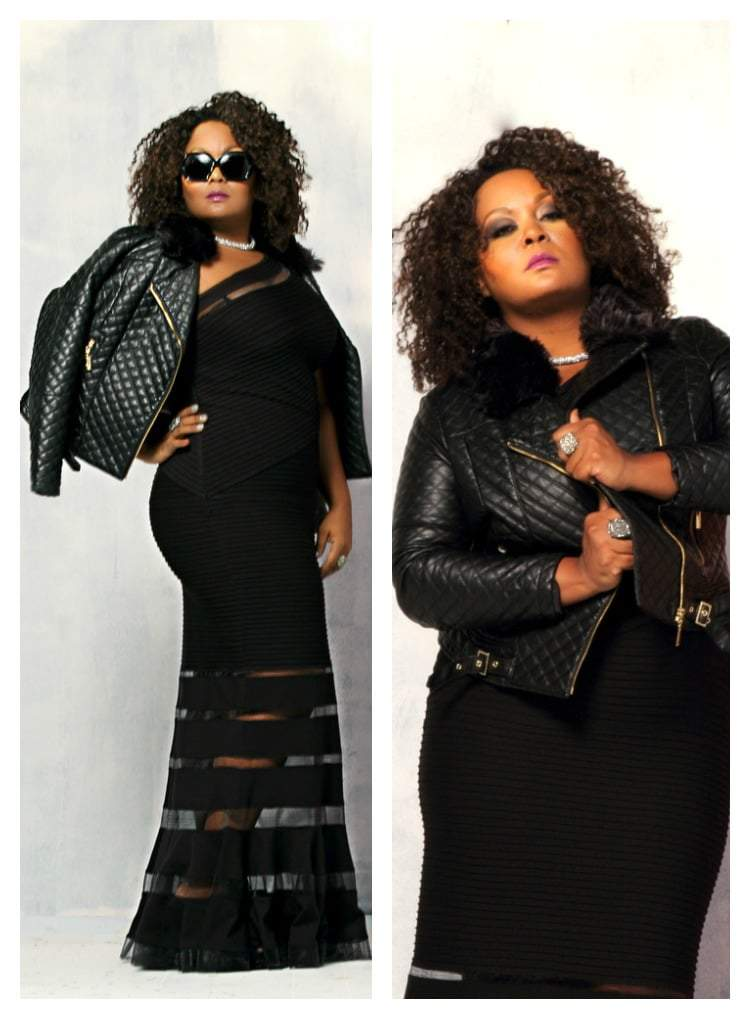 The Curvy Fashionista shot by Stanley Desbas and Styled by Susan Moses