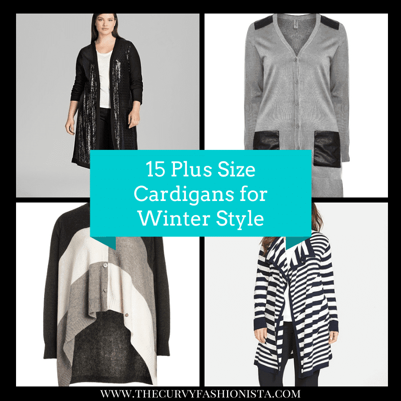 15 Plus Size Cardigans for Winter Style