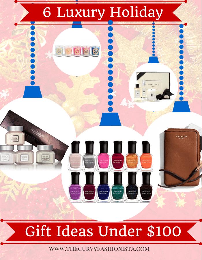 6 Luxury Holiday Gift Ideas Under $100