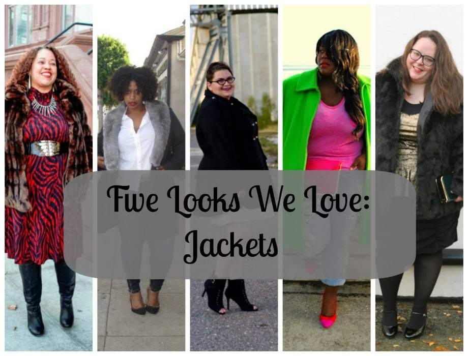Five Looks We Love Jackets on The Curvy Fashionista