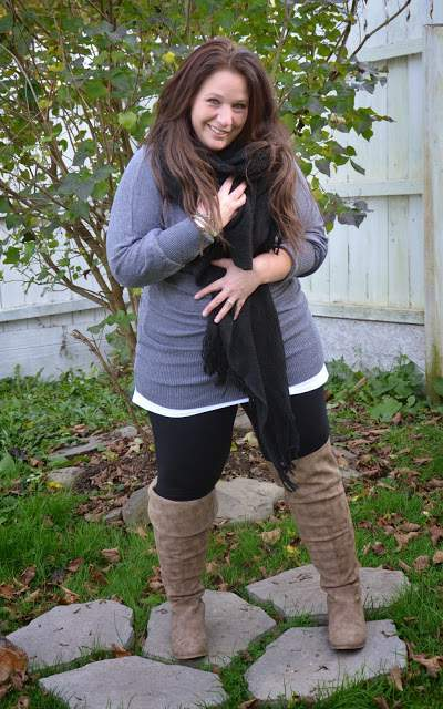 Five Looks We Love: Sweater Weather - Full Figured and Fashionable on The Curvy Fashionista