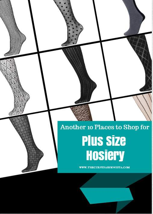 Another 10 Places to shop for Plus Size Hosiery