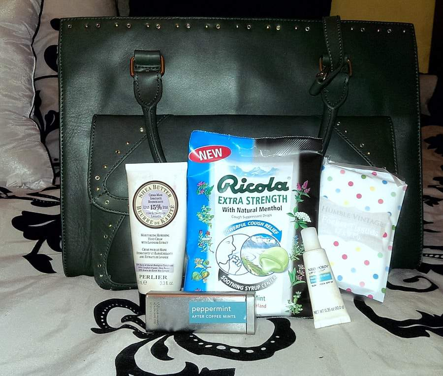 Winterize Your Handbag with Ricola