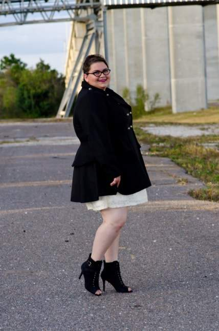 Kirstin Marie on The Curvy Fashionista