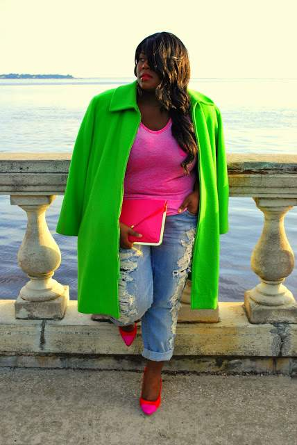 Musings of a Curvy Lady on The Curvy Fashionista