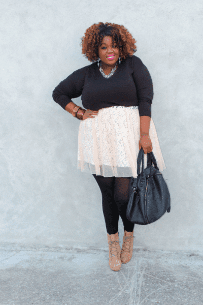 Five Looks We Love: Sweater Weather - On the Q Train on The Curvy Fashionista