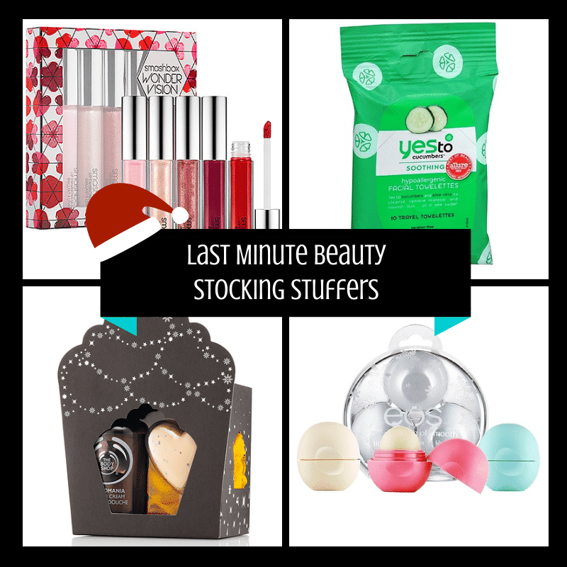 Last Minute Beauty Stocking Stuffers