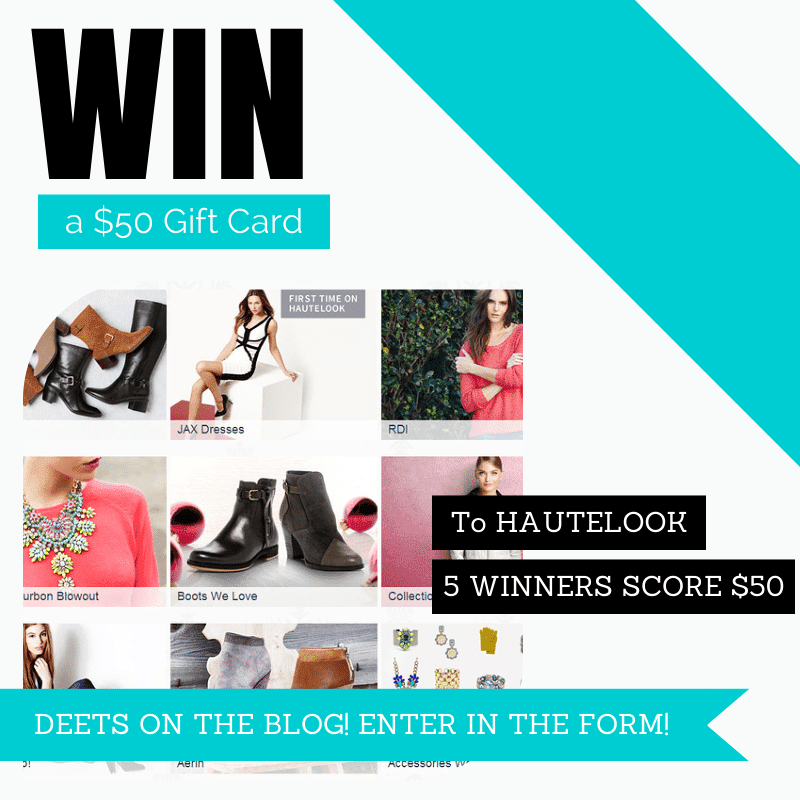 Hautelook Giveaway on The Curvy Fashionista