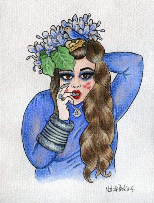The plus size Art of Definatalie and Fancy Lady Industries on the curvy fashionista