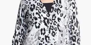 foxcroft-leopard-print-cardigan-Plus Size Cardigans on The Curvy Fashionista