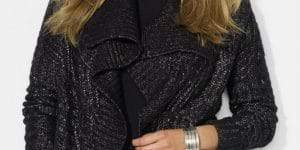 lauren-ralph-lauren-open-front-shimmer-cardigan-Plus Size Cardigans on The Curvy Fashionista