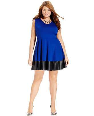 Holiday Gift Ideas for COllege Students on The CUrvy Fashionista-Plus Size Dress from Macys