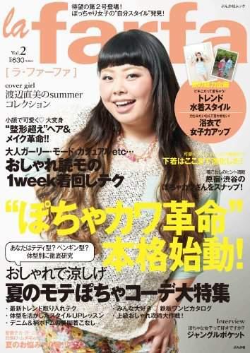 Japanese Plus Size Magazine La Farfa