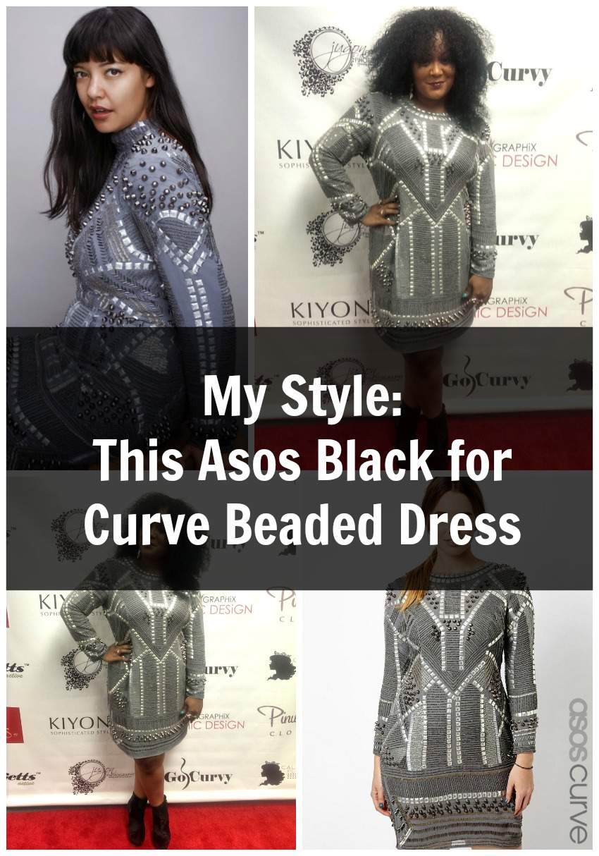 ASOS Curve Black Label Dress  on The Curvy Fashionista