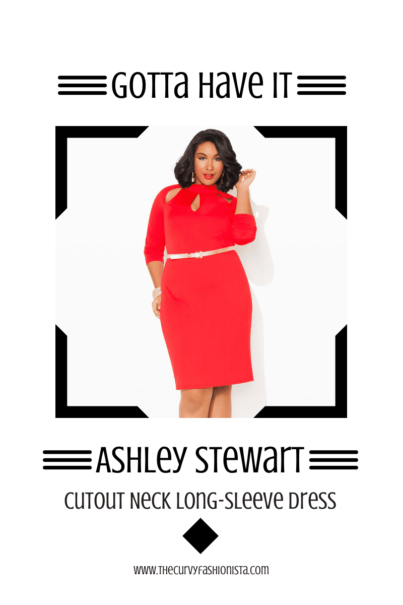 Ashley Stewart Cutout Dress