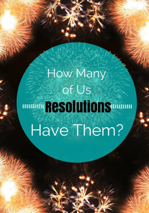 Resolutions- How many of us have them