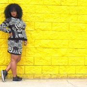 Marie Denee- My Style in the Asos Curve Knit Skirt Set on The Curvy Fashionista
