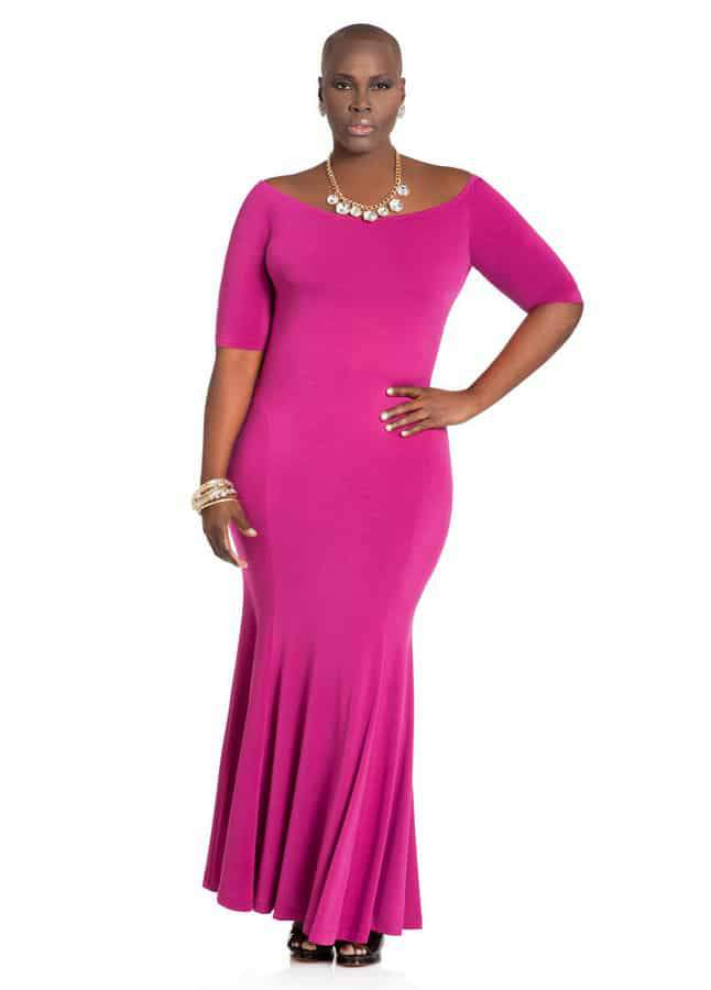 Maxi Dresses: Ashley Stewart Maxi Dresses Plus Size