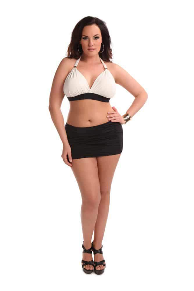 Plus Size Swim: Sorella Swim 2014 Collection on The Curvy Fashionista