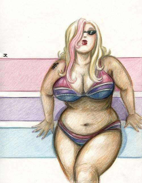 Plus Size Art: Embracing Our Sexy by jr