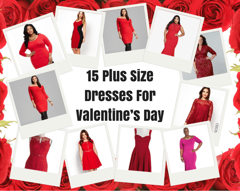 15 Plus Size Dresses For Valentines Day The Curvy Fashionista