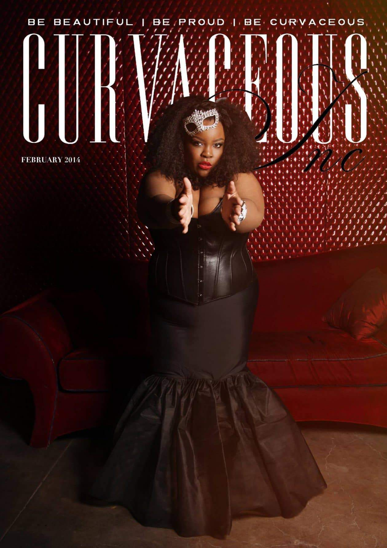 Chenese Lewis for Curvaceous Inc February Cover
