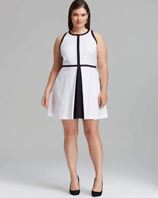 BB Dakota Plus Size Filmore Dress on The Curvy Fashionista