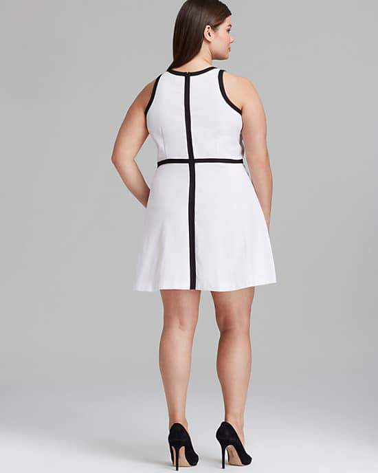BB Dakota Plus Size Filmore Dress on The Curvy Fashionista