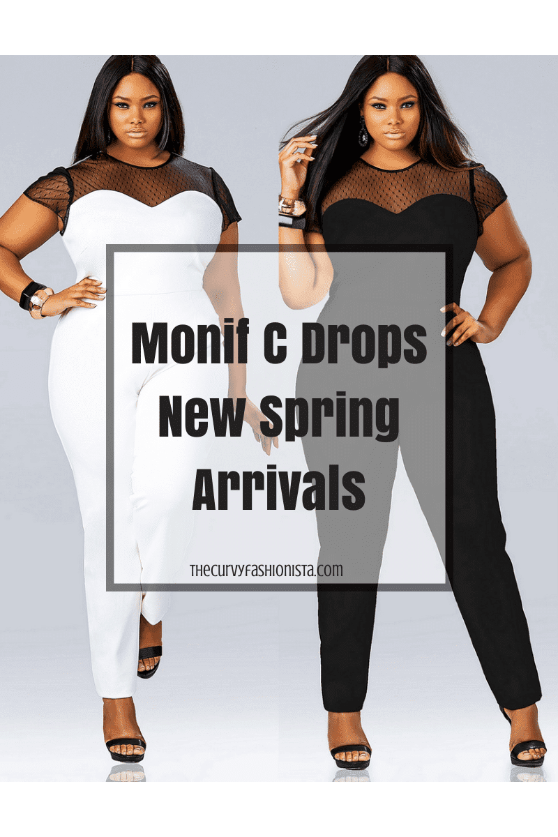 Plus Size Designer Monif C Drops New Spring Arrivals