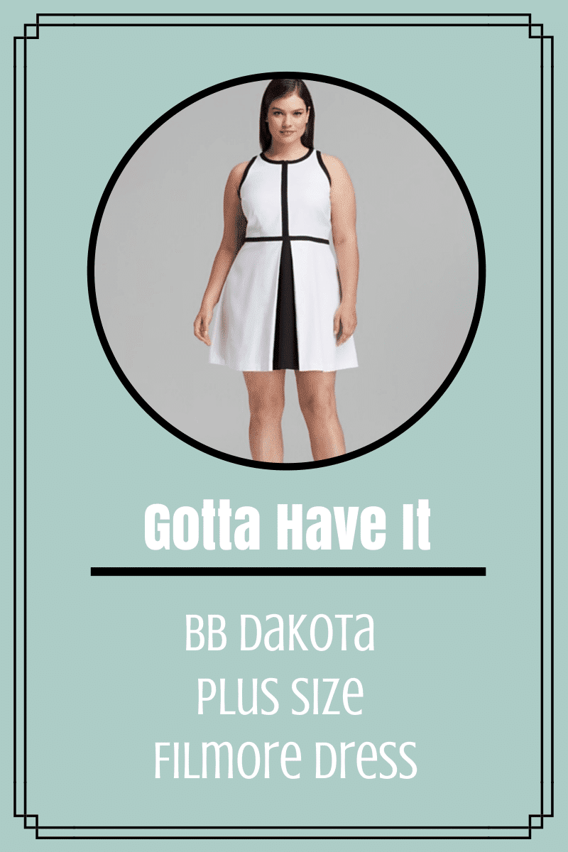 BB Dakota Plus Size Filmore Dress