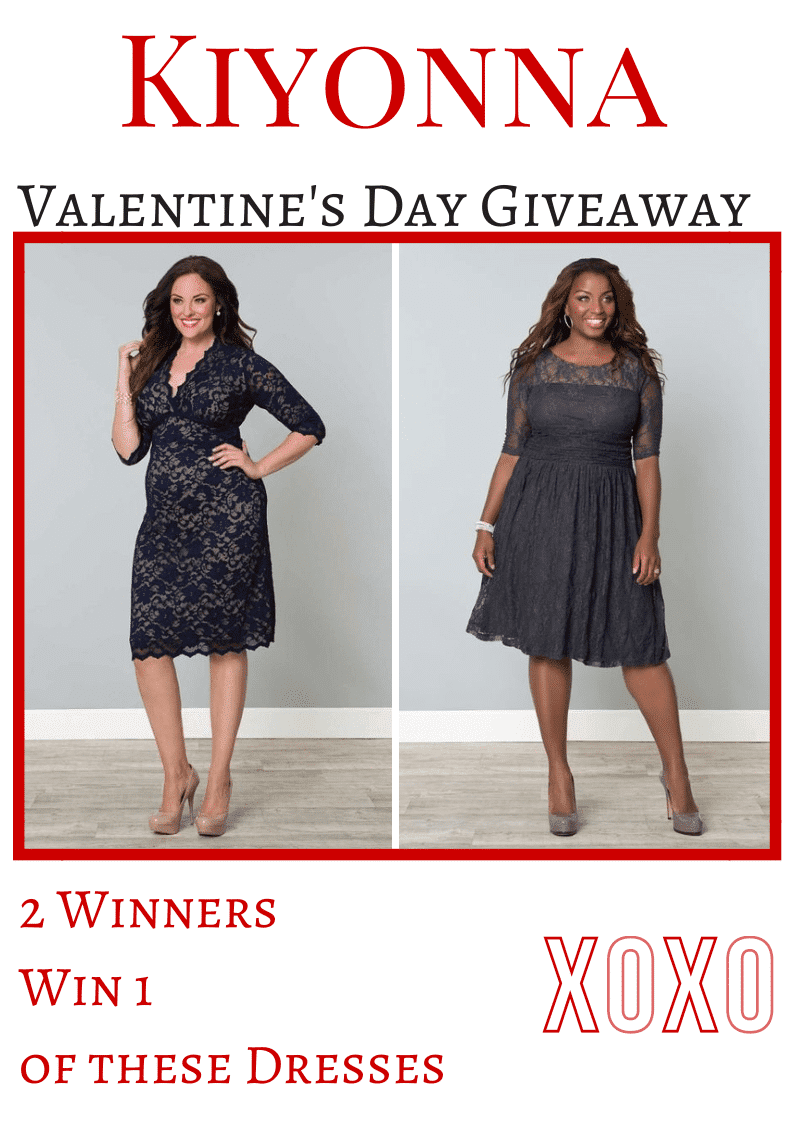 Spend Valentine's Day in Style with the Kiyonna Giveaway