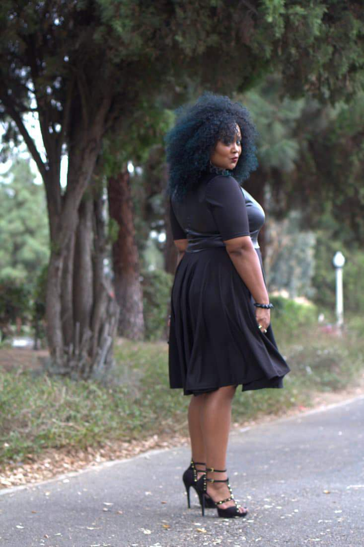 My Style: Playful in my Ashley Nell Tipton Dress on the Curvy Fashionista