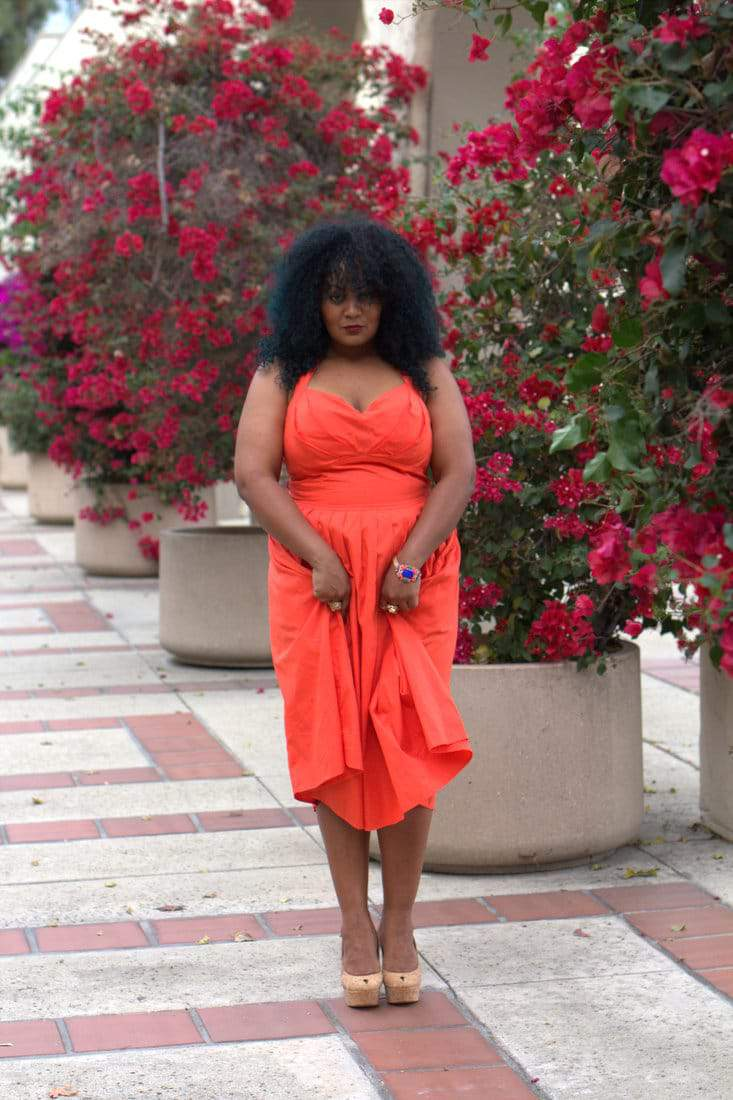 My style in love with eshakti and this dress the curvy fashionista marie denee in eshakti dress on the curvy fashionista ombrellifo Choice Image