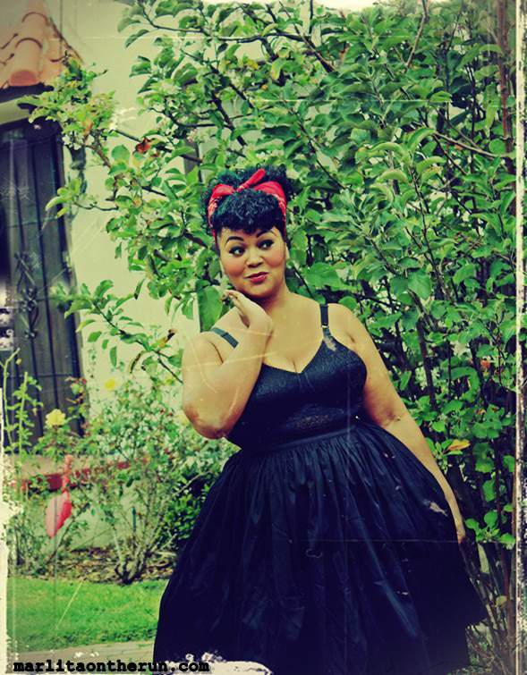 Sweethearts Blogger Marie Denee- The Curvy Fashionista shot by Marlita on the Run