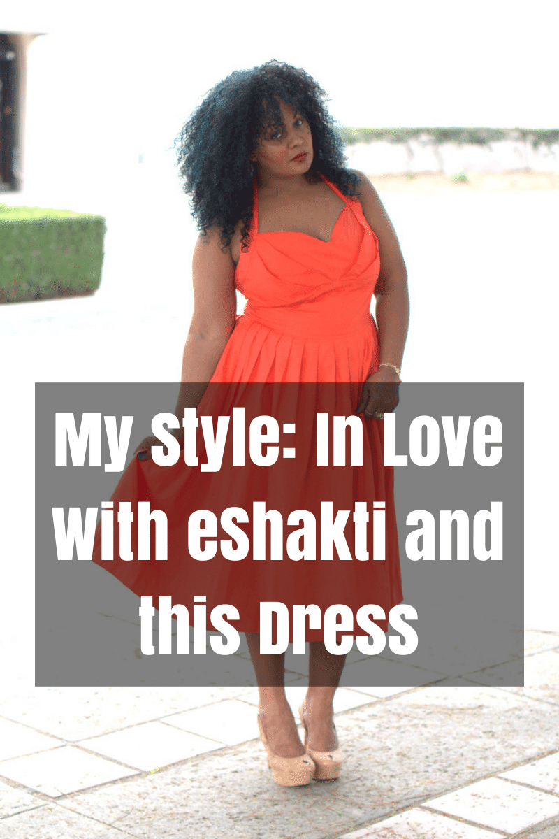 My Style- In Love With eShakti and this dress