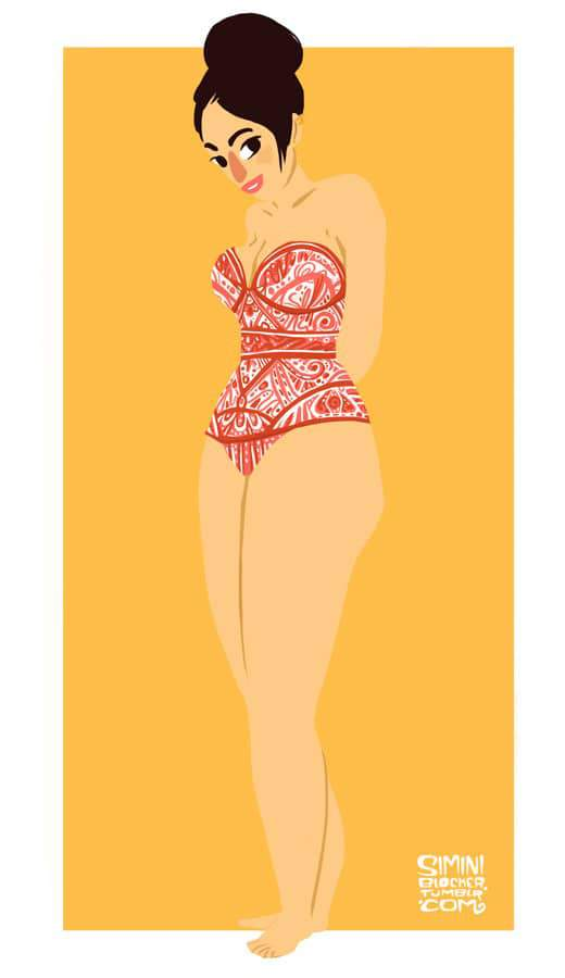 Plus Size Art Simini Blocker on the Curvy Fashionista