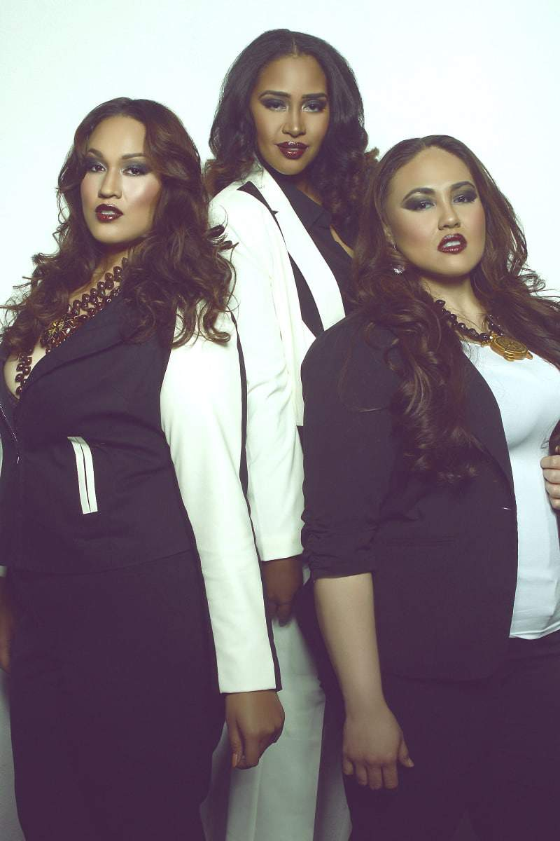 Polynesian Exchange- Polynesian Plus Size Models