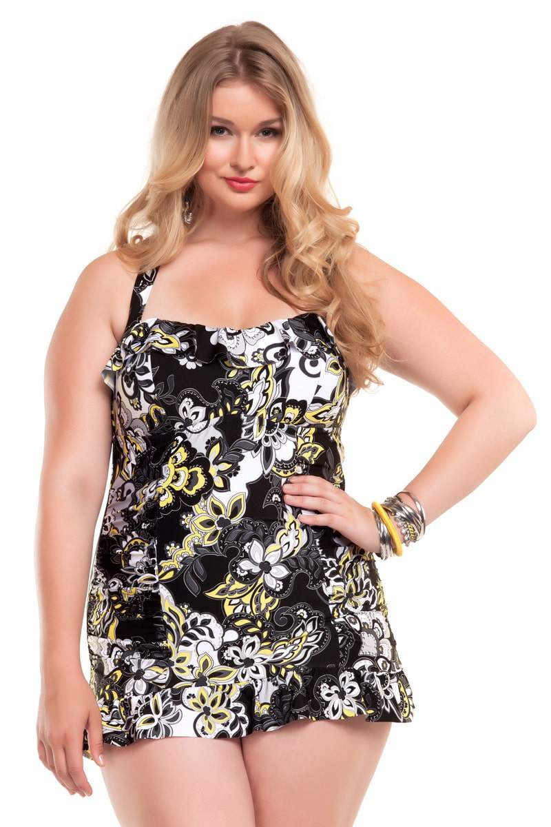 Becca Etc Plus Size Swimwear Collection on The Curvy Fashionista
