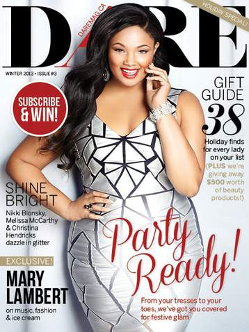 Dare Magazine Holiday 2013