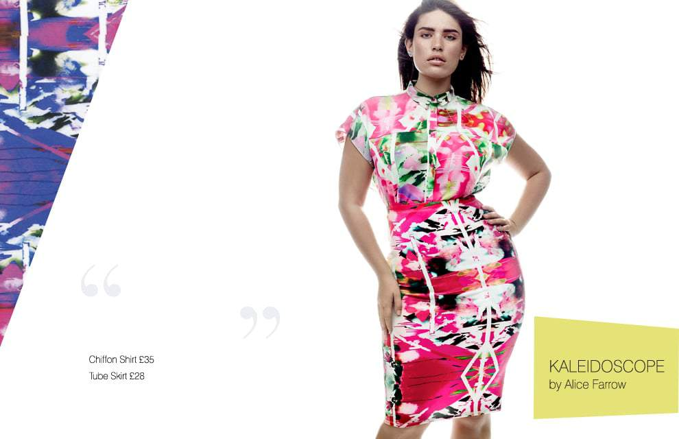 Cut for Evans Plus Size Collection Look Book