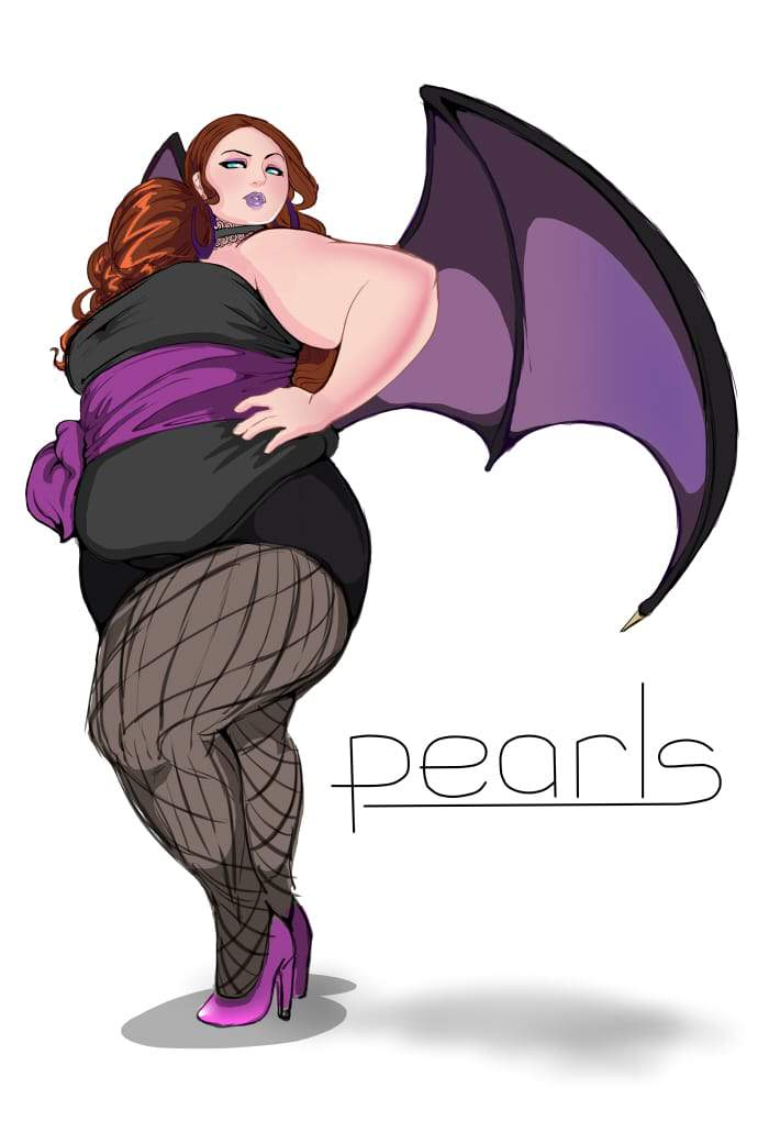 Plus Size Art: The Plus Size Superhero-Wings to Fly by Steel Gavel on The Curvy Fashionista