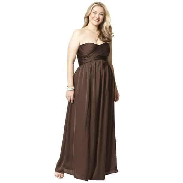 PLUS SIZE NEWS: Target Plus Size Bridesmaid Dresses NOW Online | The Curvy Fashionista