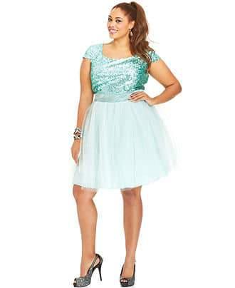 Macy's Trixxi Prom Dress
