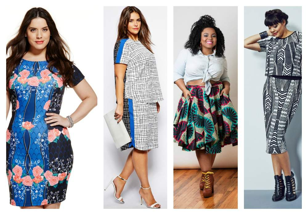 Plus Size Fashion Trends 2015 Pattern Trends The Plus