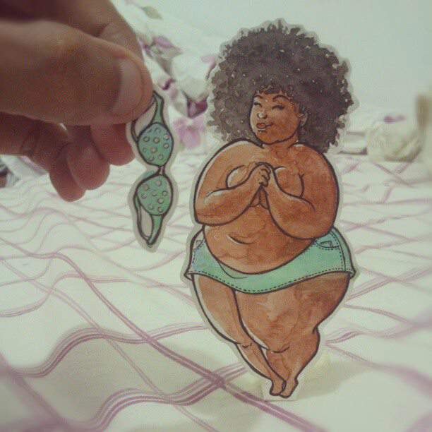 Plus Size Art: A Spotlight on Edull