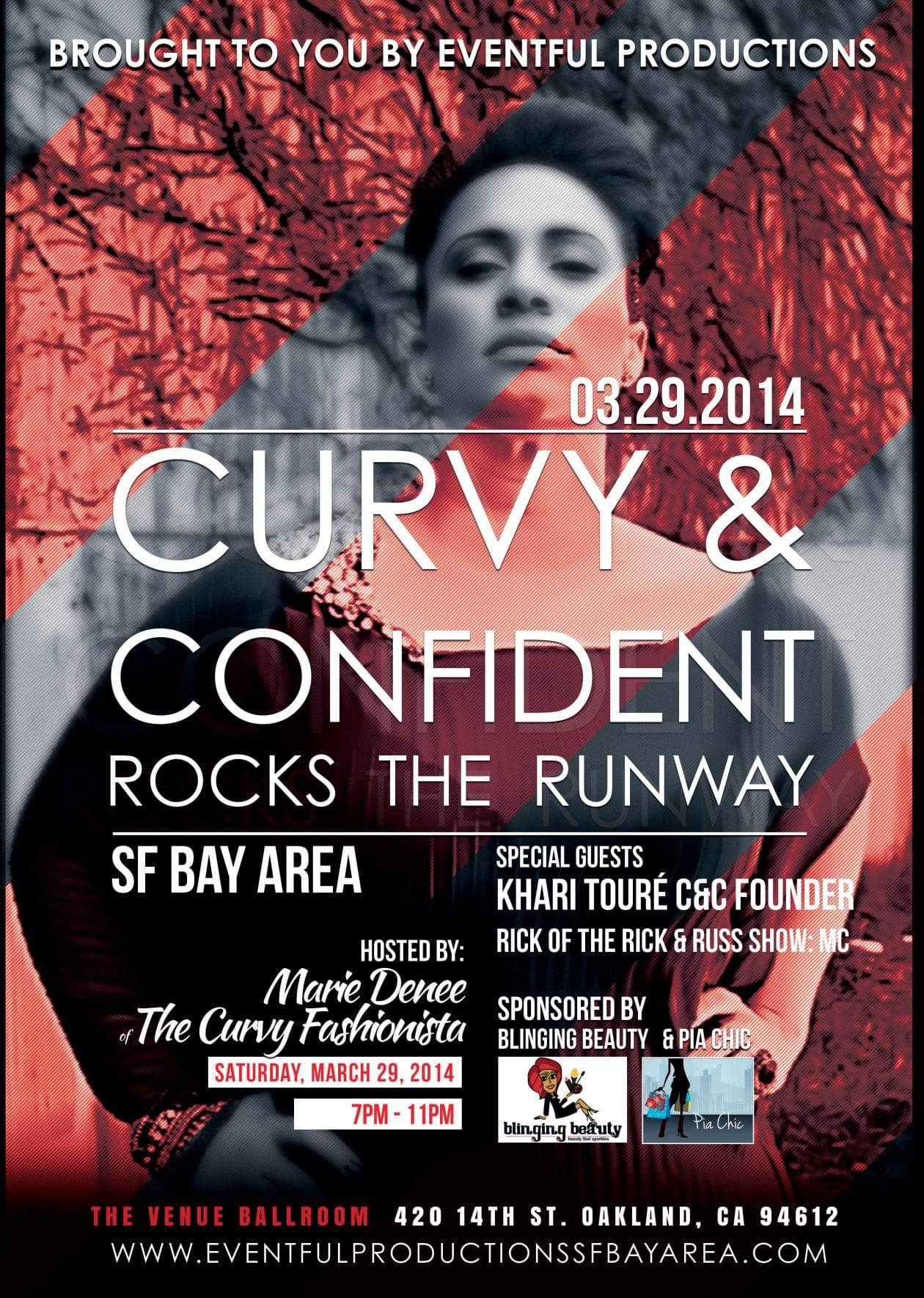 #BAYAREA: Save the Date for Curvy & Confident Rocks the Runway