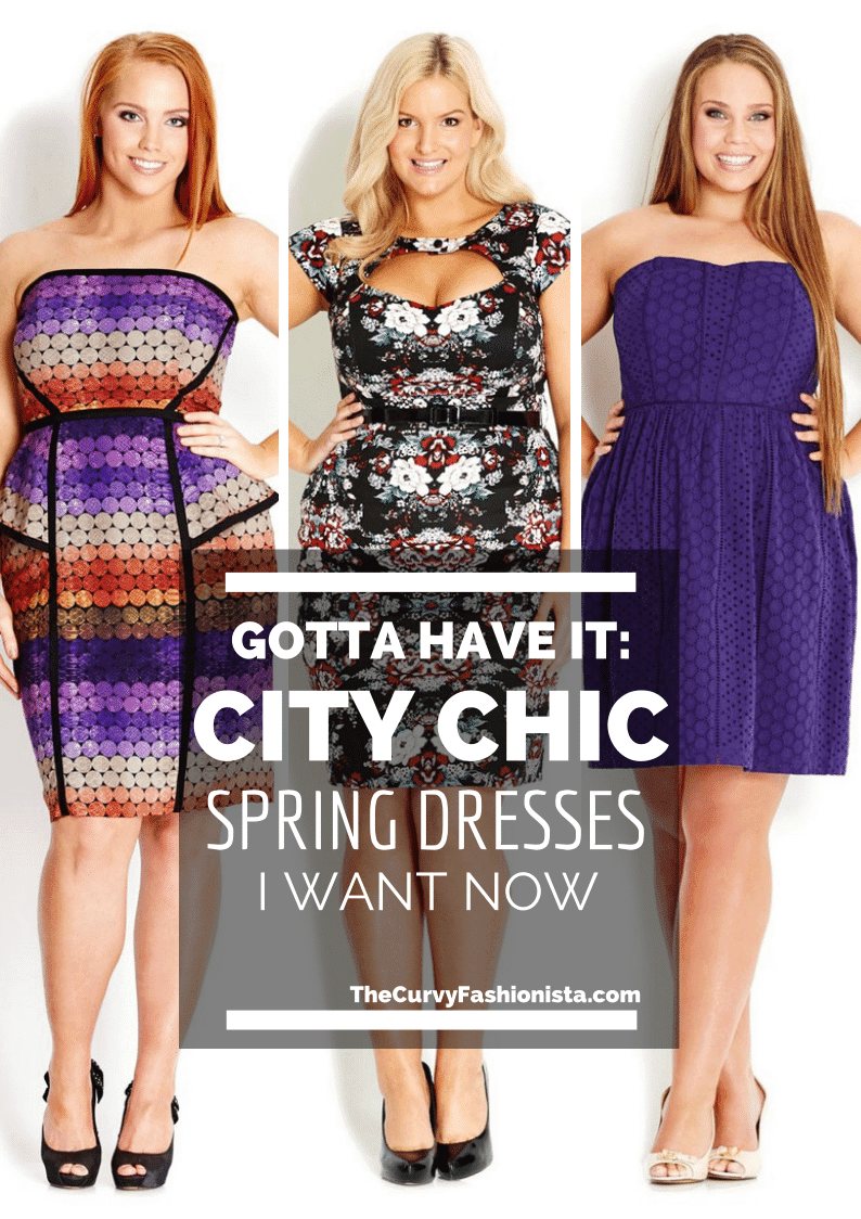 City Chic Spring Dresses- Plus Size SPring Dresses on the Curvy Fashionista