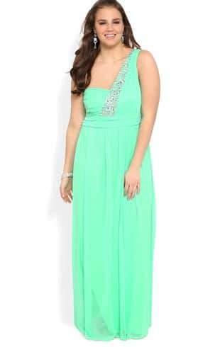 Deb Shops Mint Dress