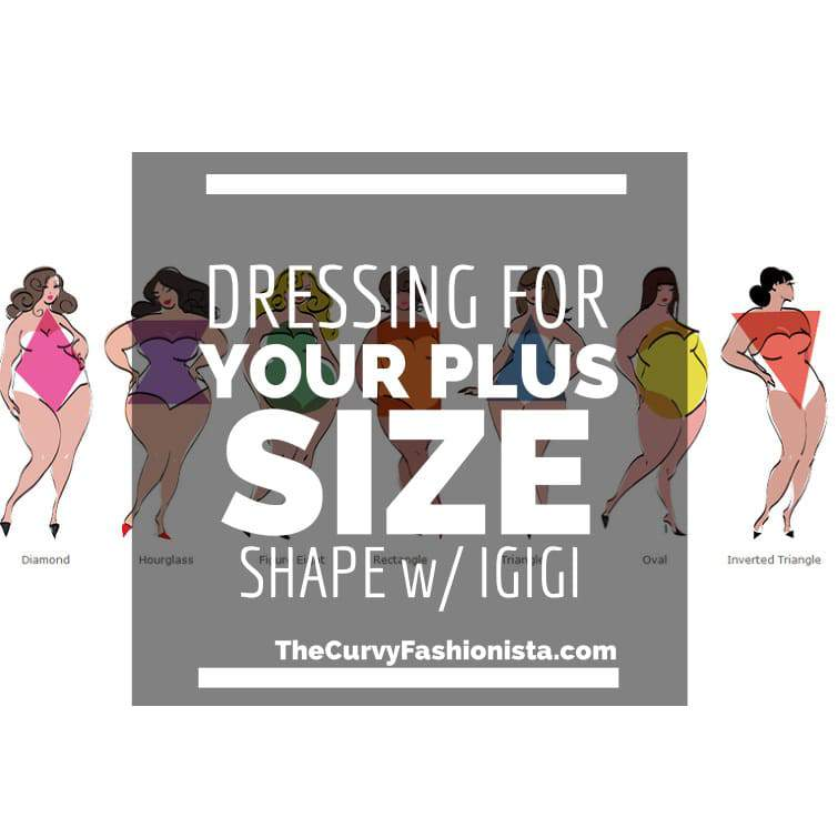 Dressing for your plus size shape on The Curvy Fashionista